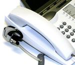 Schnurlose-Headset-Integration Plantronics Headset CS70 und Telefon werden eine Einheit.